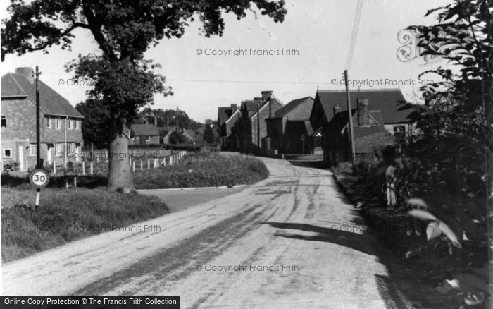 Photo of Ardingly, Church Road c.1950