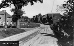 Ardingly, Church Road c.1950