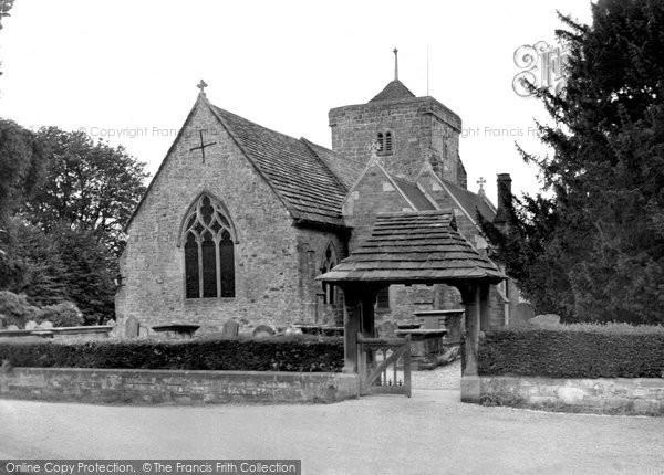 Ardingly, St Peter's Church c.1955