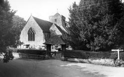 St Peter's Church c.1965, Ardingly