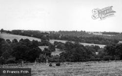 Ardingly, View From c.1950