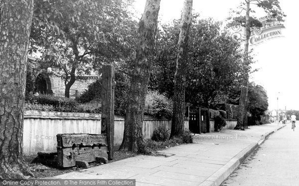 Ardleigh Green, the Stocks c1955