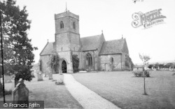 Areley Kings, Church Of Saint Bartholomew c.1965