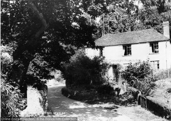 Arford, Bowcot Hill c.1955