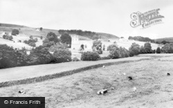 Arkengarthdale, Church And General View c.1960
