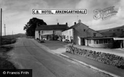 Arkengarthdale, The C.B. Hotel c.1965