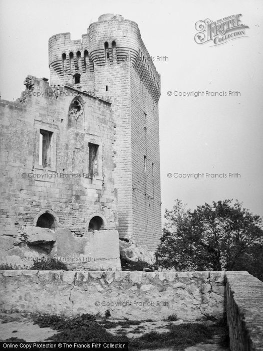 Photo of Arles, Montmajeur Castle 1939