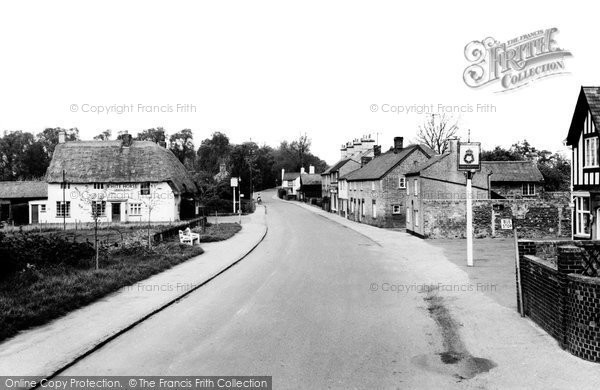 Photo of Arlesey, High Street c.1965