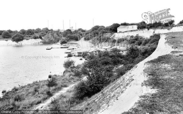Photo of Arlesey, the Blue Lagoon c1965