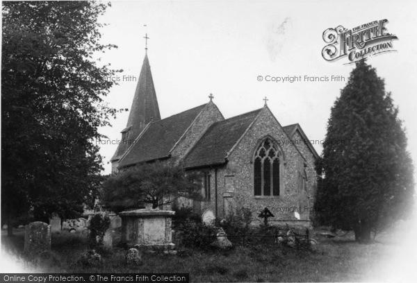 Photo of Arlington, St Pancras Church c.1955