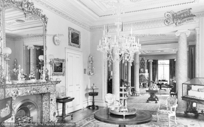 Photo of Arlington, The Drawing Room, Arlington Court c.1960