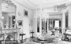 Arlington, The Drawing Room, Arlington Court c.1960