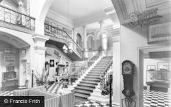Arlington, The Hall, Arlington Court c.1960