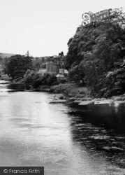 Armathwaite, Castle And River Eden c.1965