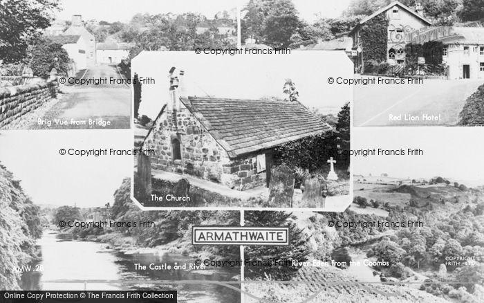 Photo of Armathwaite, Composite c.1955