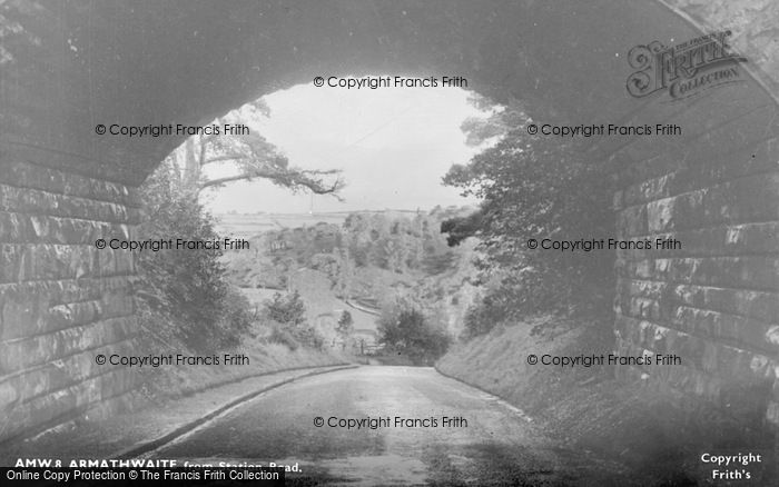 Photo of Armathwaite, From Station Road c.1955