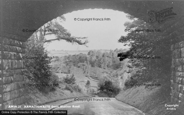 Photo of Armathwaite, From Station Road c.1965