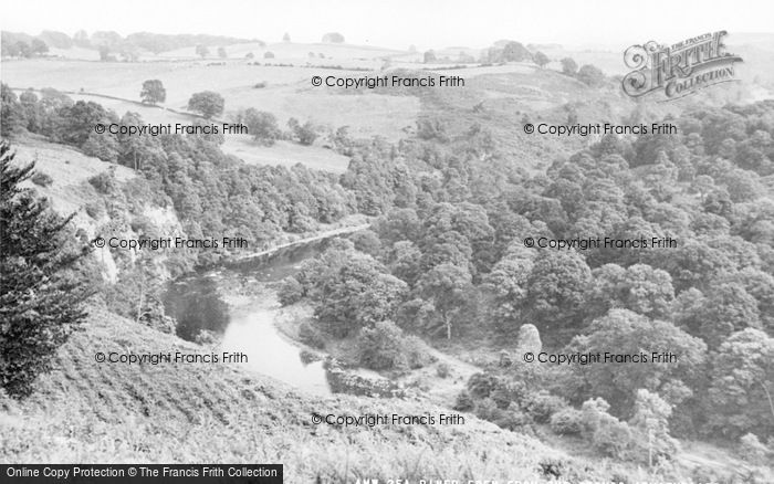 Photo of Armathwaite, River Eden From The Coombs c.1965