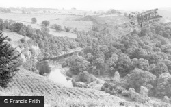 Armathwaite, River Eden From The Coombs c.1965