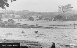 Armathwaite, View From Baron Wood c.1965
