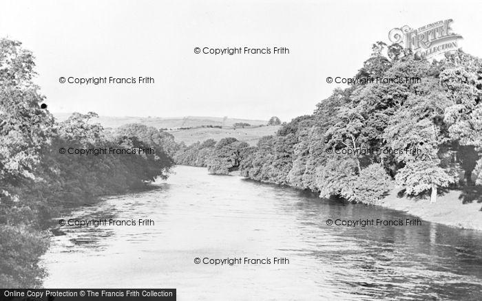 Photo of Armathwaite, View From Eden Bridge c.1955