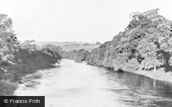 Armathwaite, View From Eden Bridge c.1955