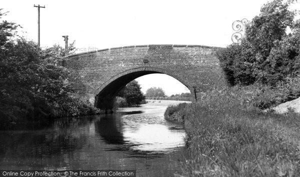 Armitage, Canal Bridge c.1955