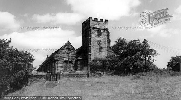 Armitage, St John The Baptist's Church c.1955
