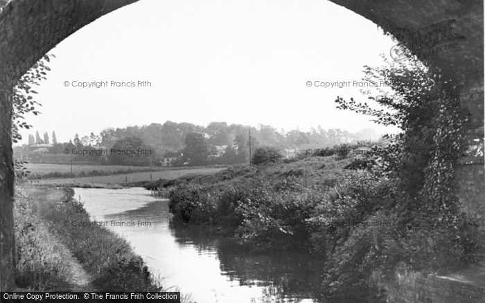 Photo of Armitage, The Canal c.1960
