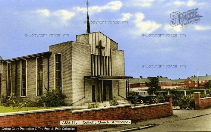 Photo of Armthorpe, Catholic Church c.1965