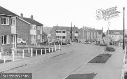 Armthorpe, Elmwood Crescent c.1960