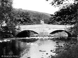 Arncliffe, River And Bridge c.1955