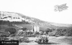 Arnside, Arnside Tower And Knott c.1930