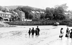 Children Paddling 1891, Arnside