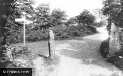 Arnside, On Arnside Knott 1929