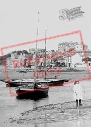 On The Beach 1894, Arnside