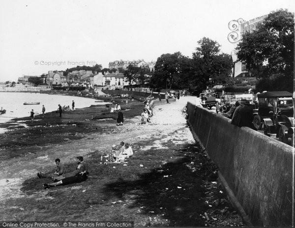 Arnside, On The Shore c.1930