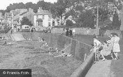 Relaxing By The Shore c.1955, Arnside