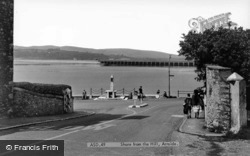 Shore From The Hill c.1955, Arnside
