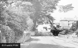 Arnside, The Hill c.1955