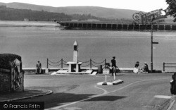 Arnside, The Seafront c.1955