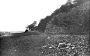 Arnside, The Shore And Cliffs c.1935