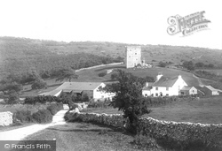 Arnside, Tower And Farm 1894
