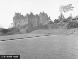Arran, Brodick Castle 1958