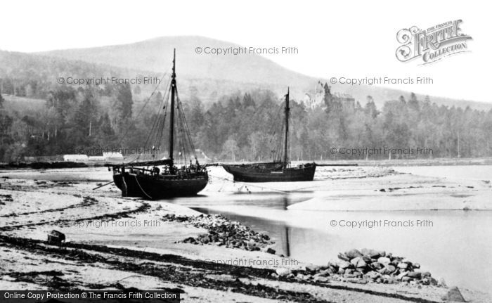 Photo of Arran, Brodick Castle And The Bay 1890