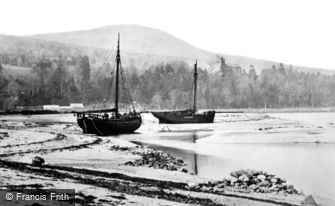 Arran, Brodick Castle and the Bay 1890