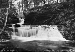 Arran, Falls In Brodick Glen c.1940
