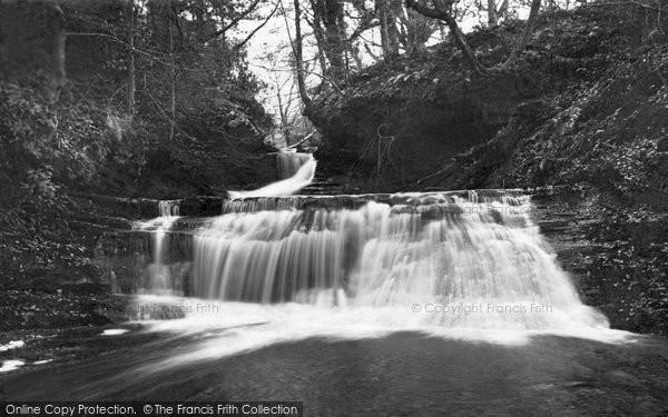 Photo of Arran, Falls In Brodick Glen c.1940