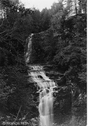 Arran, Glenashdale Falls, Whiting Bay c.1940