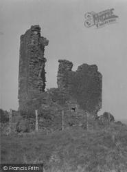 Arran, Kildonan Castle 1958